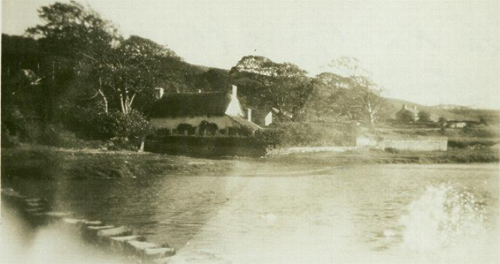 Star Cottage, Ogmore Village, circa 1947